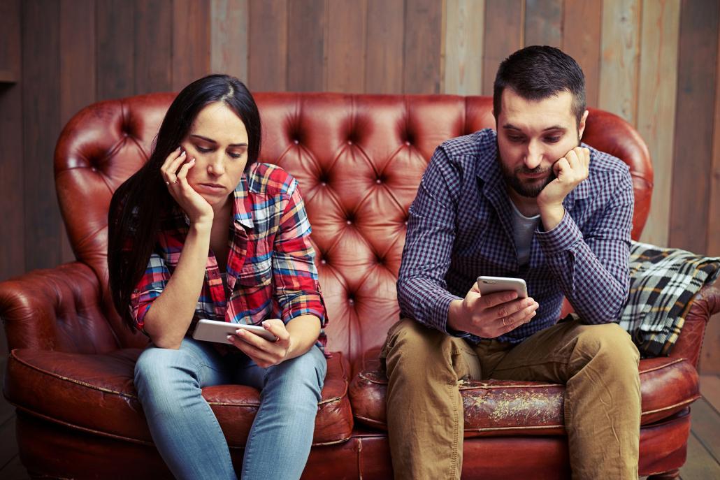Online-dating-leute sind wirklich langweilig zu plaudern