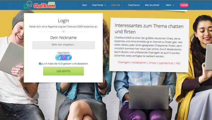 Dating-site, die einen kostenlosen chat ohne upgrade haben
