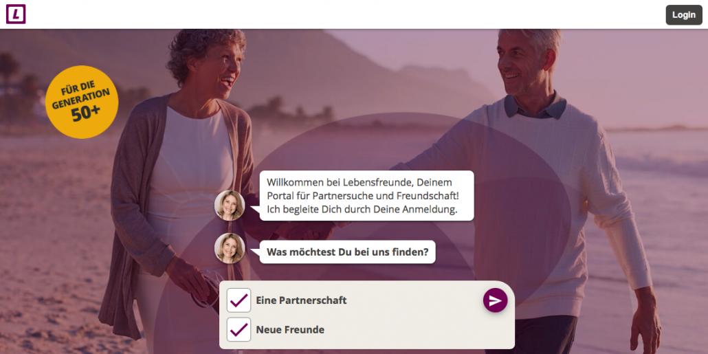 LebensFreude - Singlebörsen Ab 50